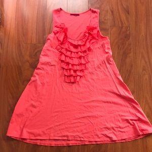 Velvet Brand Coral cotton dress/coverup